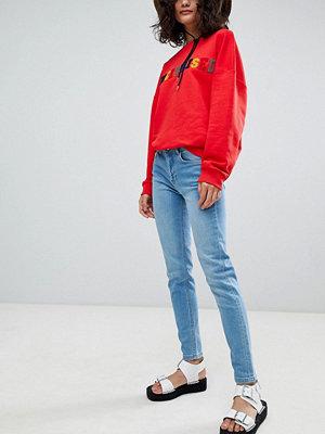 Uncivilised Core Skinny jeans Mellanblå färg