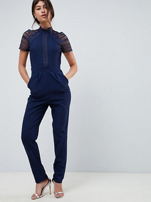 Little Mistress Jumpsuit med spetsdetalj