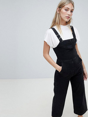 Weekday Denim Jumpsuit med vida ben