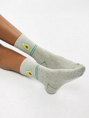 Strumpor - Vero Moda Avocado Socks Ljusgrå