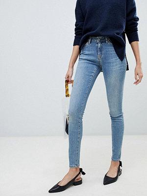 Selected Femme Skinny jeans Mellanblå denim