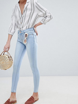 New Look India Supermjuka skinny jeans Blekt