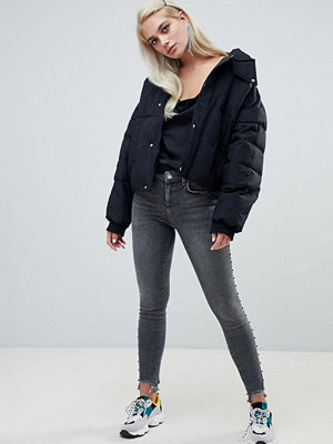 River Island Amelie Skinny jeans i tvättad svart Tvättad svart
