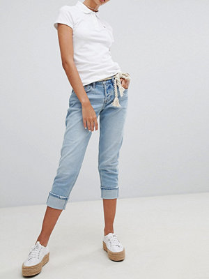 Hollister Lågt skurna boyfriend-jeans Medium