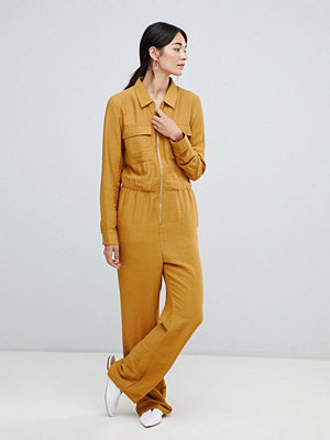 Vila Funktionell jumpsuit Cathay spice