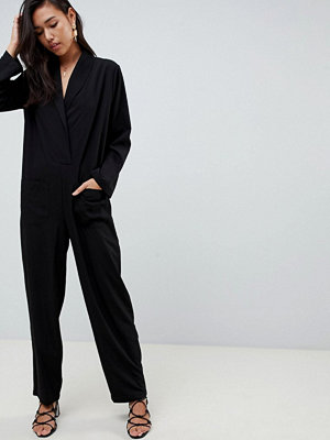 ASOS DESIGN Minimalistisk Jumpsuit med fickor