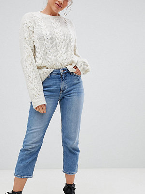 New Look Petite Harlow Jeans med raka ben Authentic