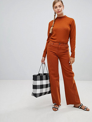 Monki Vida rostfärgade jeans