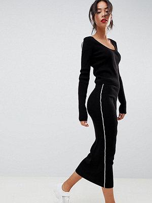 Asos Tall Stickad kjol med kantband