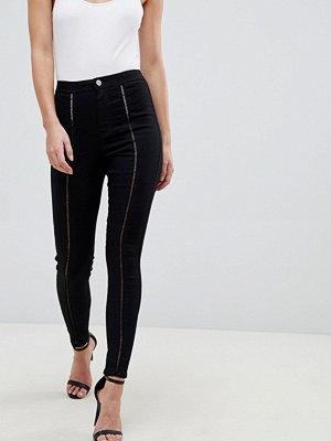 ASOS DESIGN Rivington Jeans med hög midja