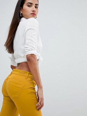Salsa Wonder Push Up Jeans som lyfter rumpan 4099 mostard