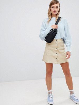 Monki A-linjeformad minikjol