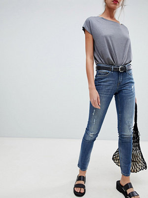 Blend She Nova Janett Skinny-jeans Vintage blue denim