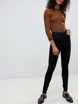 Selected Femme Skinny jeans Svart jeans-tyg