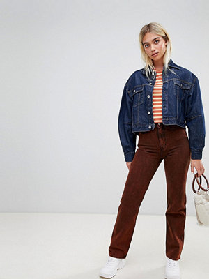 Weekday Limited edition mom-jeans Stentvätt