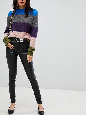 Pieces Skinny jeans med mellanhög midja