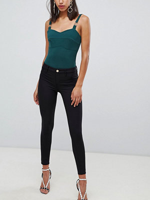 River Island Molly Techno Jeans med smal passform