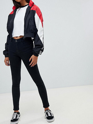 Pull&Bear Svarta skinny jeans