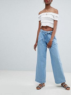 New Look Jeans med vida ben Indigo