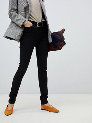 Warehouse Svarta skinny jeans