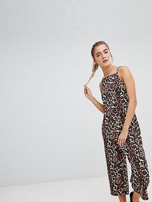 Daisy Street Leopardmönstrad jumpsuit Leopard