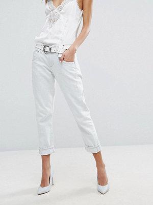 A-Gold-E AGOLDE Isabel Boyfriend-jeans med smal passform Mystic