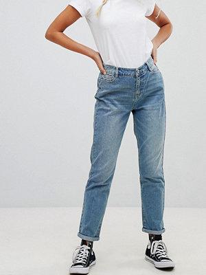 "Urban Bliss Ljusa jeans i ""mom jeans""-modell"