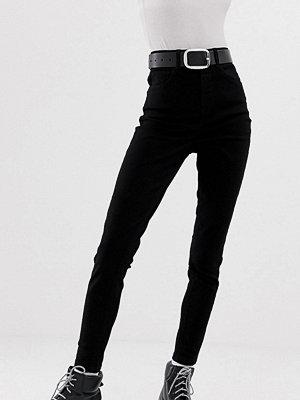 Collusion X001 svarta skinny jeans