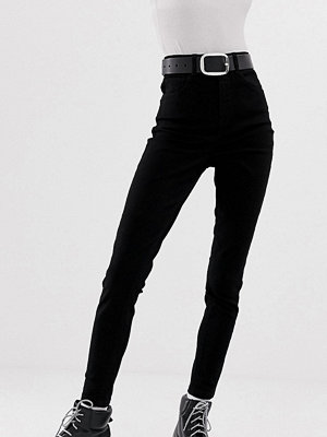 Collusion Svarta skinny jeans