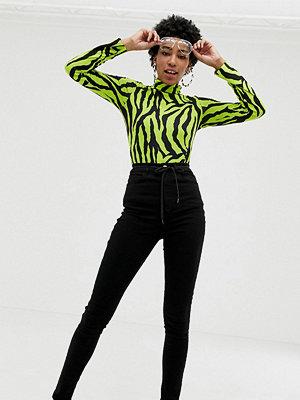 Collusion Tall x001 Svarta skinny jeans