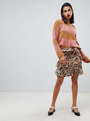 Sofie Schnoor Leopardmönstrad minikjol Leopard