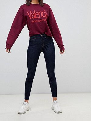 River Island Harper Råtvättade skinny jeans Rå