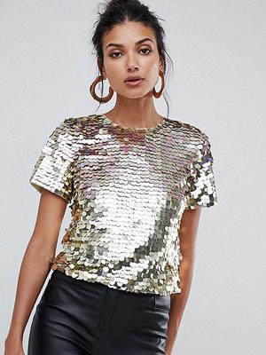 Asos Tall Utlimate t-shirtklänning i leopardmönster