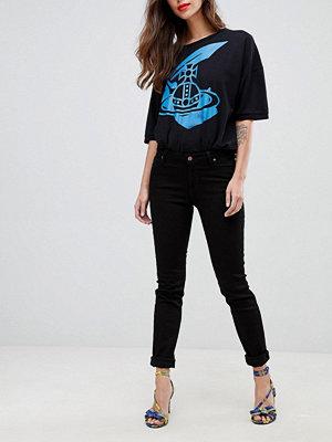 Vivienne Westwood Anglomania Höga slim jeans Black n401