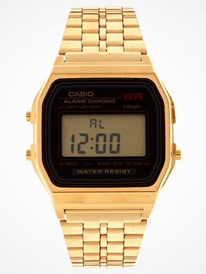 Klockor - Casio A159WGEA-1EF Guldfärgad digital klocka