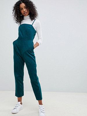 ASOS DESIGN Grön jumpsuit i manchester