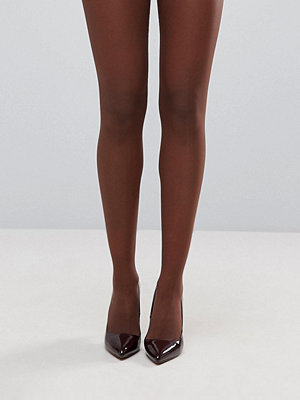 ASOS DESIGN 15 Denier nudetights i umbrabrunt