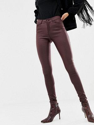 Vero Moda Skinny jeans med beläggning