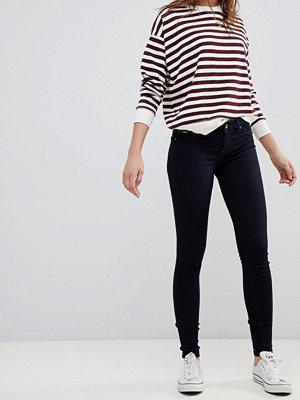 Superdry Alexia jeansjeggings Rinse blue black