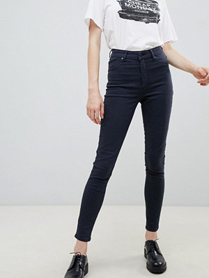 Cheap Monday High Spray Skinny jeans med hög midja Crow