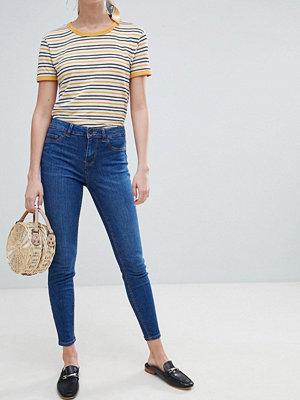 New Look Jenna Skinny Jeans Mellanblå