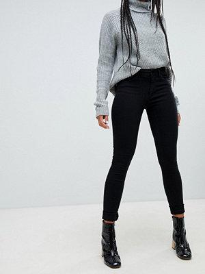 Only Boom Jeans med medelhög midja och extra smal passform