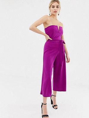 New Look Klarlila jumpsuit med skärp Klarlila