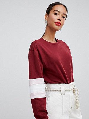 Asos Tall Sweatshirt med färgblock