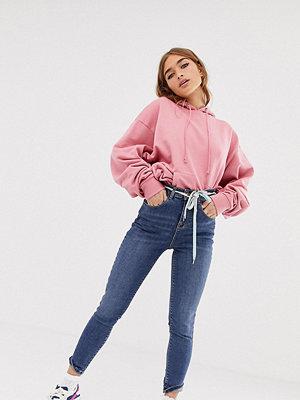 Collusion Petite x001 Mellanblå skinny jeans Mellanblå färg