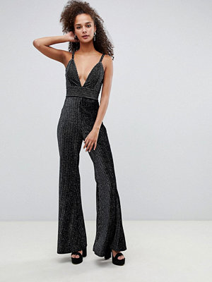 Jumpsuits & playsuits - Bershka Glittrig jumpsuit