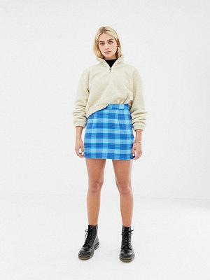 Noisy May Skotskrutig kjol Blågrönrutig
