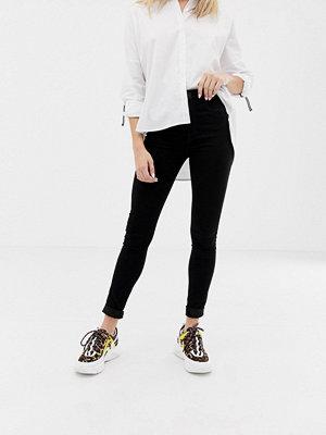 Only Skinny jeans med hög midja