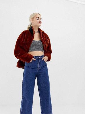 Collusion Blå jeans med vida ben Classic blue