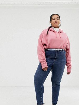 Collusion Plus x001 Mellanblå skinny jeans Mellanblå färg